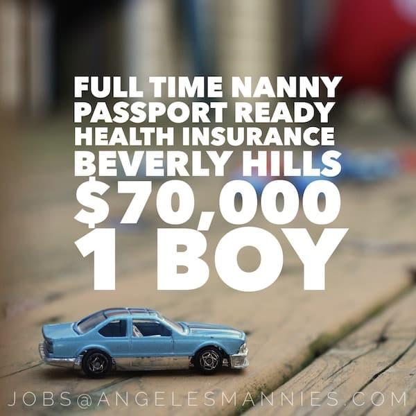 Weekday Nanny