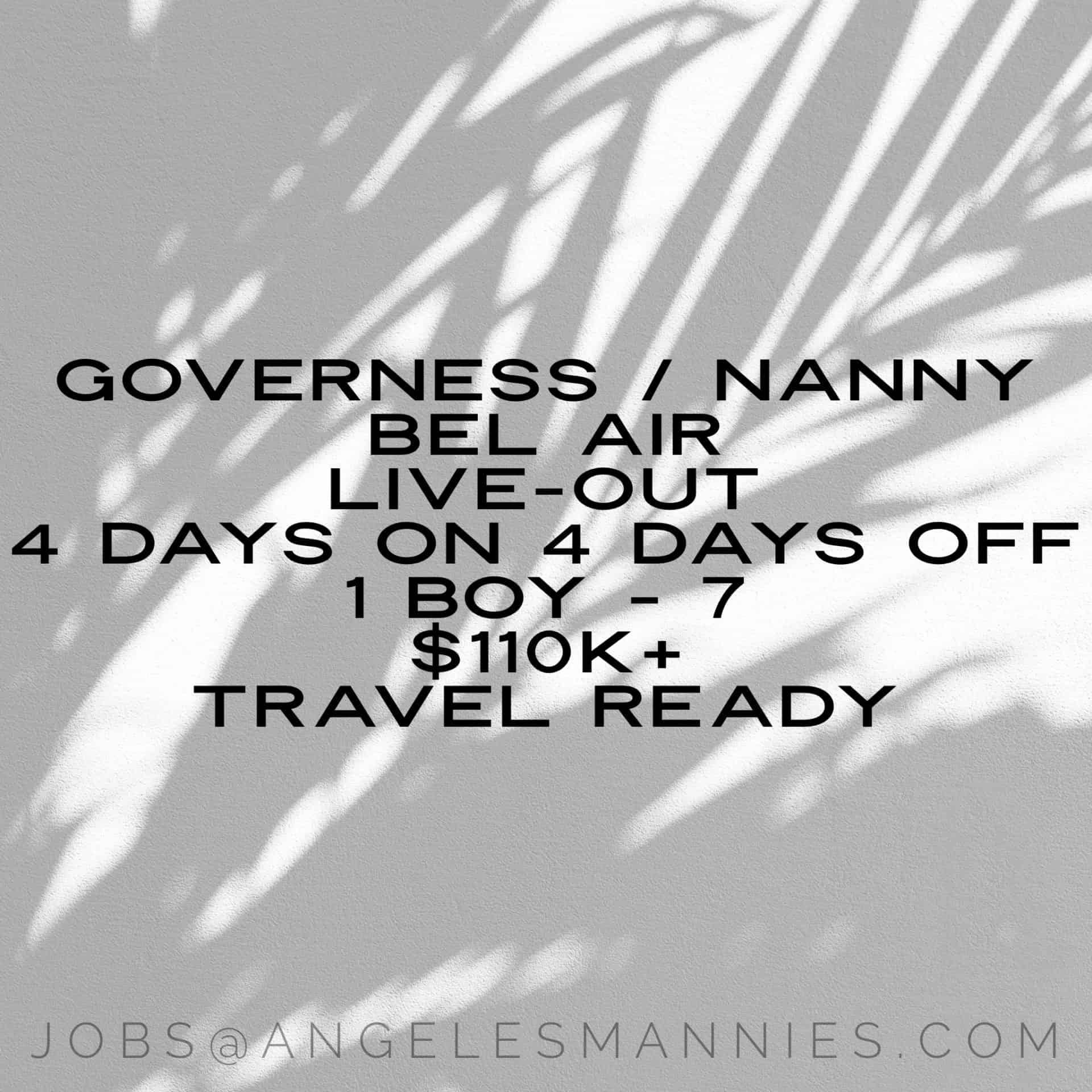 Nanny / Governess