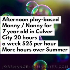 play based manny nanny