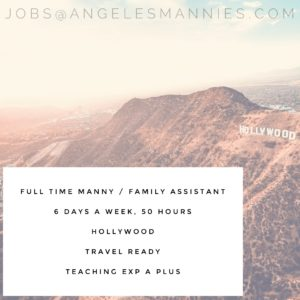 Full Time Manny Hollywood